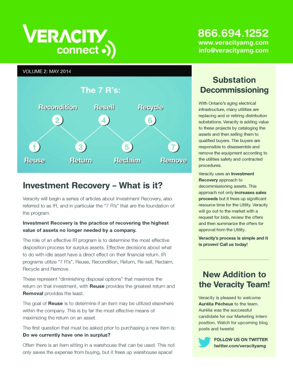 Veracity Connect Newsletter Asset Management