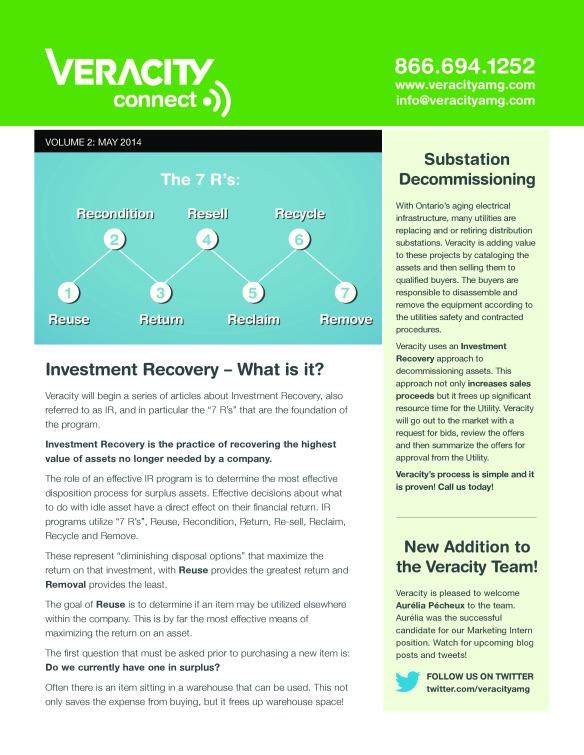 Veracity Connect Newsletter Asset Management