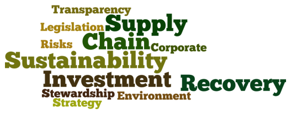 Supply Chain, Investment Recovery, Sustainability