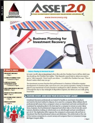 Asset 2.0 Investment Recovery Association Veracity Asset Management Group