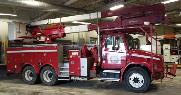 Double Bucket Truck Veracity Asset Management Group
