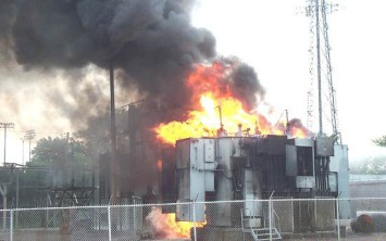 Transformer Failure Fire Veracity Asset Management
