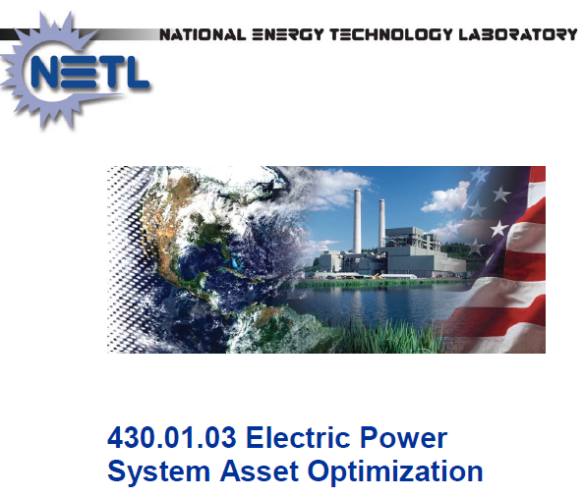Electric Power System Asset Optimization