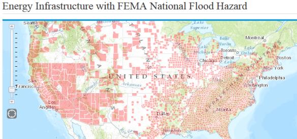 National Flood Hazard Utilities EIA