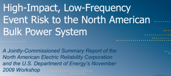 High Impact Low Frequency Event Risk North America NERC Veracity