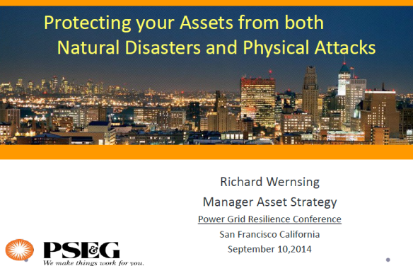 Protecting your Assets from both Natural Disasters and Physical Attacks CoverProtecting your Assets from both Natural Disasters and Physical Attacks Cover