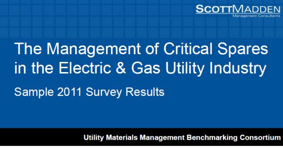 ScottMadden Critical Spares Utilities Veracity