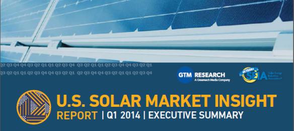 U.S. Solar Market Insight Report Q1 2014 Cover