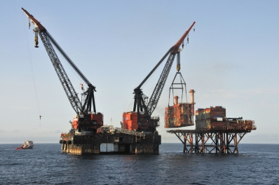 Offshore rig decommissioning oil gas