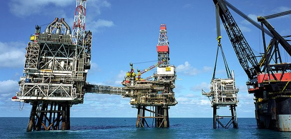 Offshore oil gas platform rig Veracity