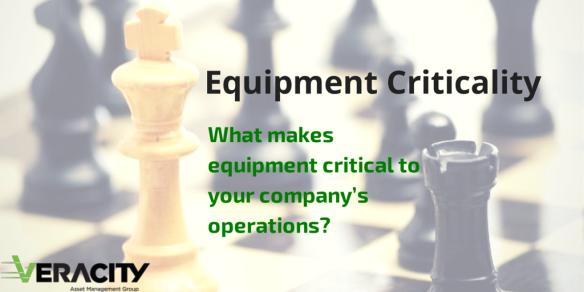 Equipment Criticality Utilities Asset Management