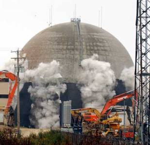 Nuclear plant decommissioning